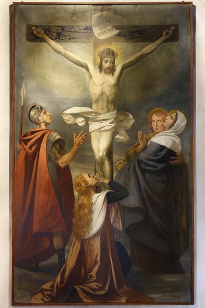 Gemälde im Kirchenvorraum