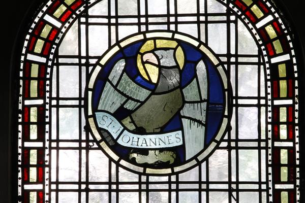 Evangelistenfenster Johannes