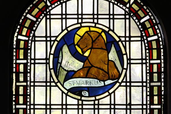 Evangelistenfenster Markus