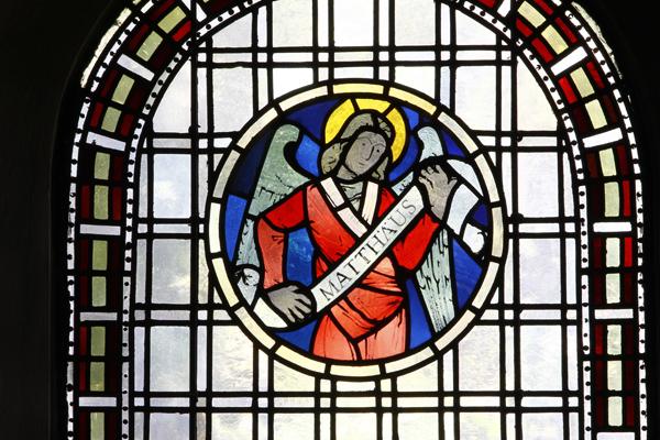 Evangelistenfenster Matthäus