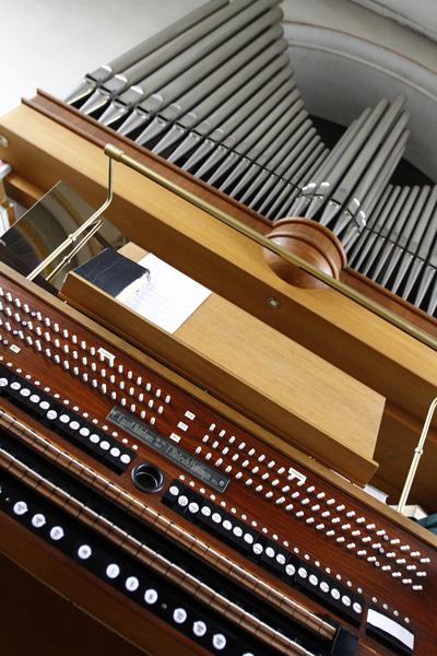 Orgel-Detailansicht