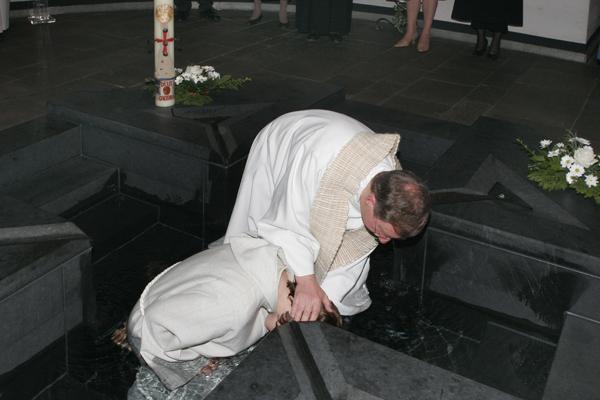 Erwachsenen-Taufe
