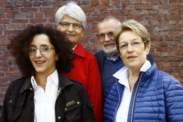 Leila Kühn, Barbara Damwerth, Friedhelm Jost und Ursula Proyer