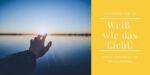 Online-Gottesdienst am Weißen Sonntag: Weiß wie das Licht!