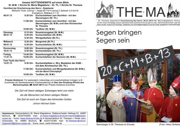 The-Ma zur Erscheinung des Herrn (06.01.2013)