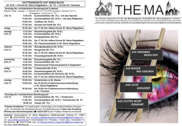 The-Ma zum 4. Sonntag der Bereitungszeit 2013 (10.03.2013)