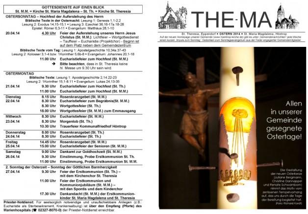 The-Ma zu Ostern 2014  (20.4.2014)