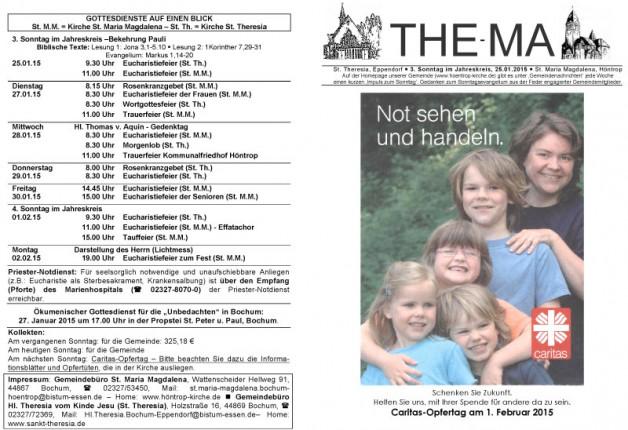 The-Ma zum 25.01.2015