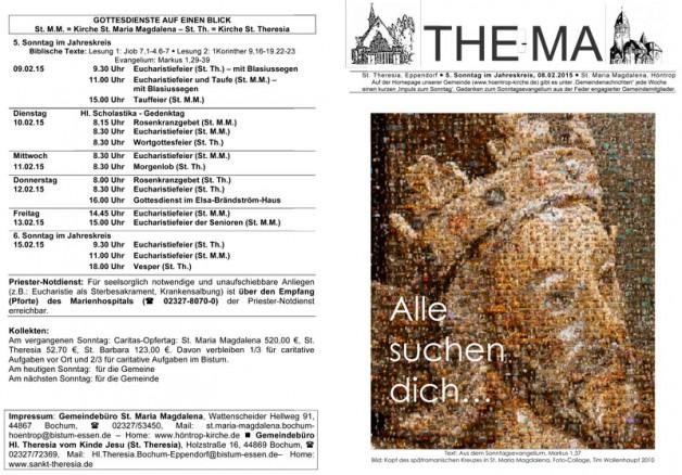 The-Ma zum 08.02.2015