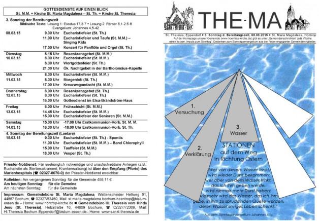 The-Ma zum 08. März 2015