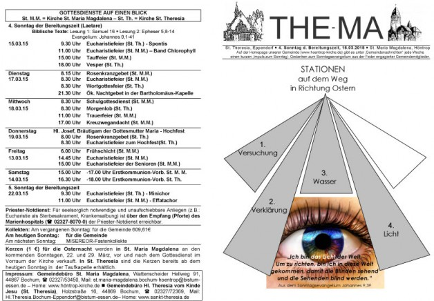 The-Ma zum 15. März 2015