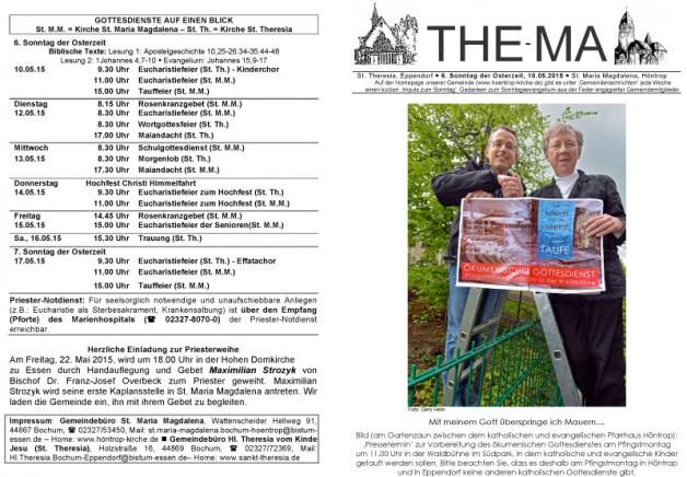 The-Ma zum 10. Mai 2015