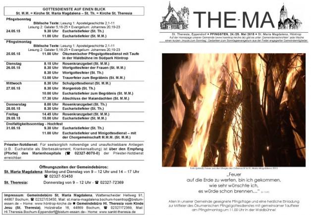The-Ma zum 24. Mai 2015