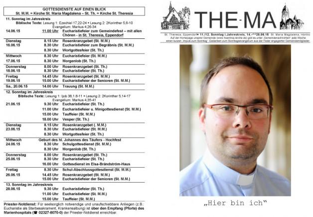 The-Ma zum 14. Juni 2015