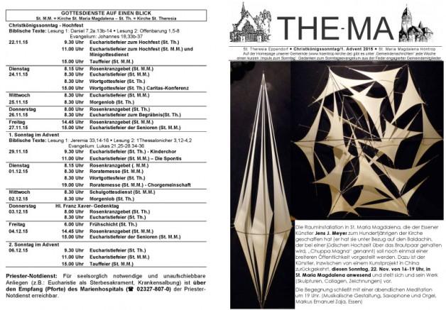 The-Ma vom 22.11. bis 06.12.2015
