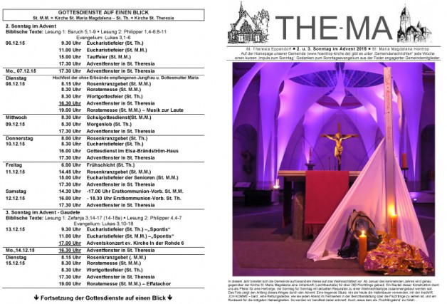 The-Ma vom 06.12. bis 20.12.2015