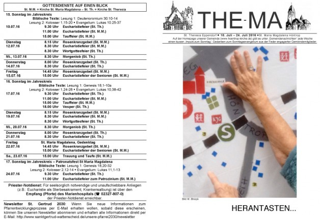 The-Ma vom 10.07. bis 24.07.16