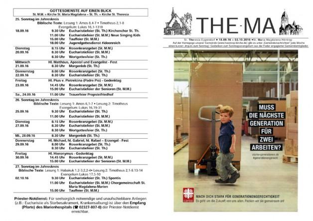 The-Ma vom 18.09. bis 02.10.16