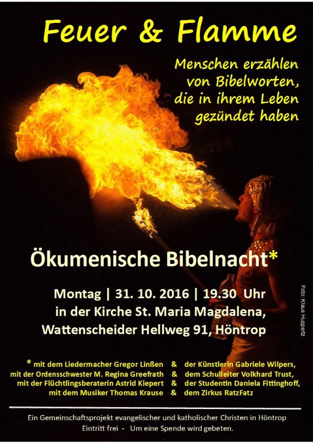 Ökumenische Bibelnacht 2016
