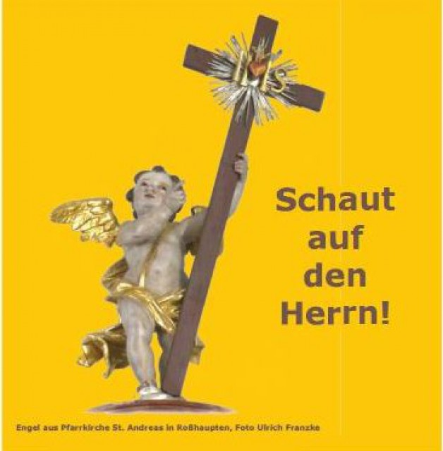 Engel aus Pfarrkirche St. Andreas in Roßhaupten, Foto: Ulrich Franzke