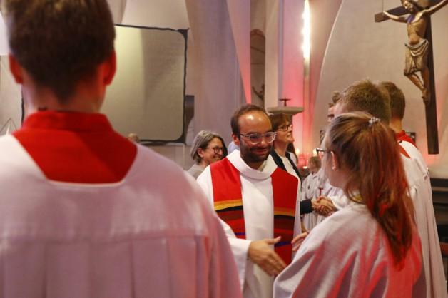 Verabschiedung Kaplan Maximilian Strozyk – Pfingsten 2019
