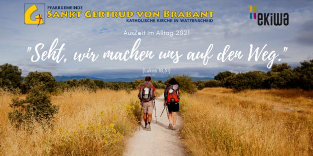 """Einladung zur """"AusZeit im Alltag 2021"""""""